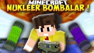 NÜKLEER BOMBA MODU !! - Minecraft Mod Tanıtımları #77