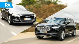 Berlina ou SUV de LUXO? Audi A8 vs Volvo XC90 Excellence