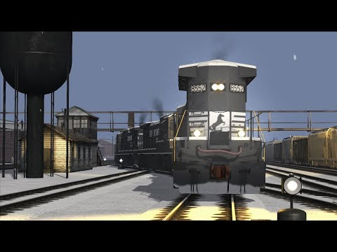 Train Simulator:  Horseshoe Curve - Norfolk Southern C39-8 - The Hostler