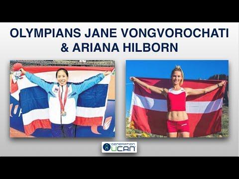 UCAN CHAT - Olympians Jane Vongvorachoti & Ariana Hilborn