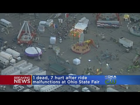 1 Dead, Several Others Hurt In Ride Malfunction At Ohio State Fair