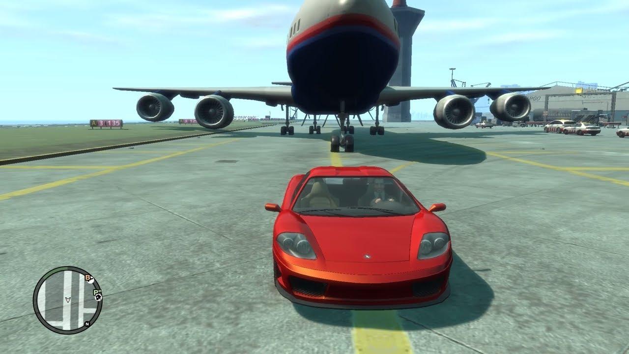 GTA 4 Story #21 – Ra sân bay chặn máy bay chở khách bị công an dí sml | ND Gaming