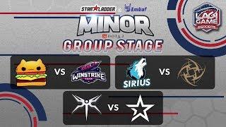 [DOTA2] Mineski VS Complexity Gaming - StarLadder IMBATV DOTA2 Minor [Ligagame]