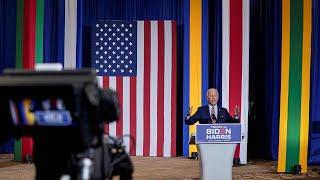 Biden courts Hispanics during first Florida tour