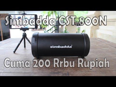 Review Simbadda CST 800N  Cuma 200 Ribu suara anjay