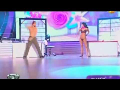 Silvina Escudero - Strep dance - Bailando 2010