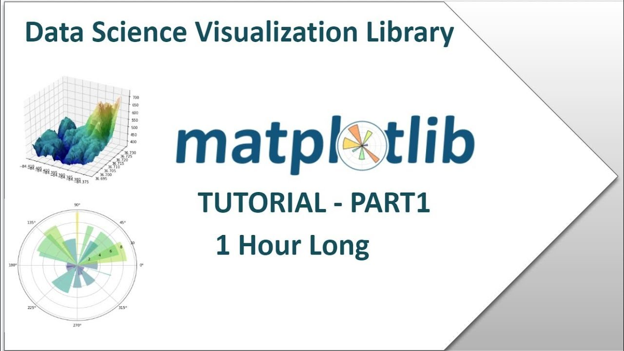 Python Matplotlib Tutorial for Beginners - Part 1 | Visualization
