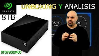 Unboxing y análisis Seagate 8 TB Expansion (STGY8000400) |MondoXbox