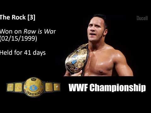 WWE Championship History [1963-2019]