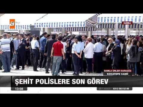 Şehit Polislere Son Görev - Atv Gün Ortası Bülteni