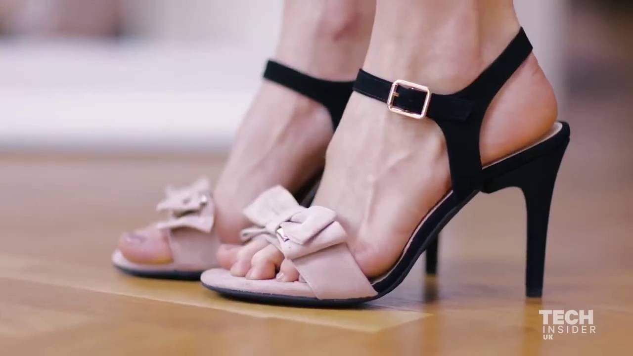 d67a185c45bd A German company created shoes with five interchangeable heels – so you can  wear them for any occasi - YouTube
