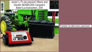 Black and Decker BDSBC20A Cargador Batería Autoselect, 20A opiniones