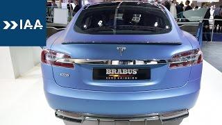 Brabus Tesla: Mehr Komfort statt mehr Leistung