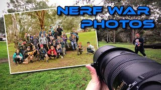 Community Nerf War: First-person Photography
