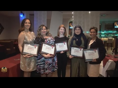 Hudson County Young Democrats honor five
