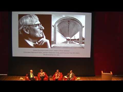 """Louis Kahn: The Power of Architecture"" Symposium, Part 4"