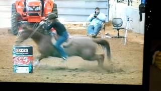Tiany Schuster & Hoosier Fame 1-11-14 Stephenville