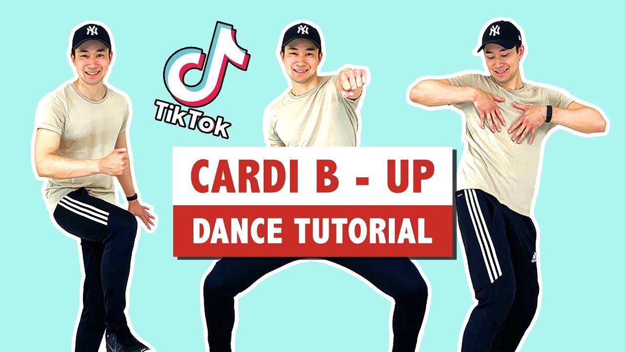 Cardi B Up Easy Tutorial Step By Step Tik Tok Dance Tutorial Youtube