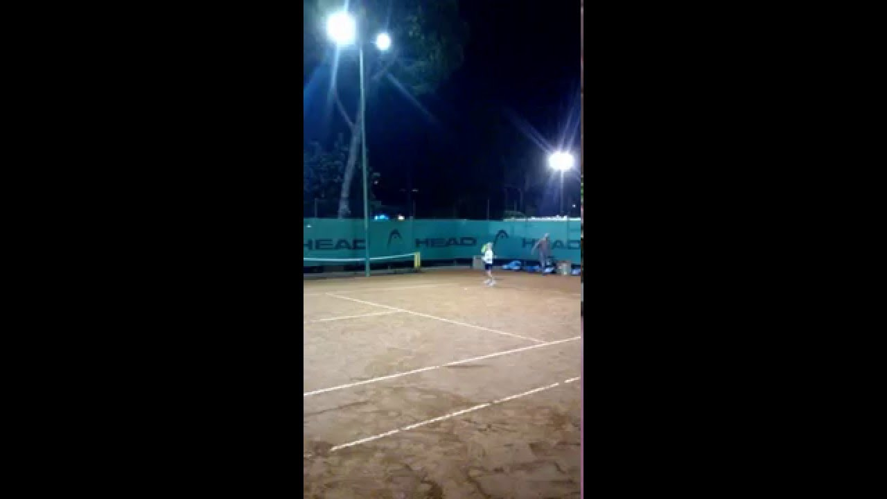 Illuminazione a led campo da tennis youtube