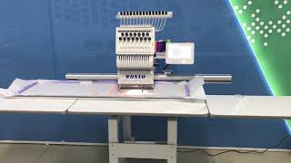 Gambar cover Super big 1 head automatic flat embroidery machine