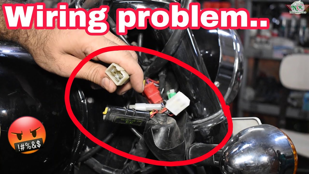 Royal Enfield missing problem😓  Troubleshooting starting issues Part-2   NCR Motorcycles