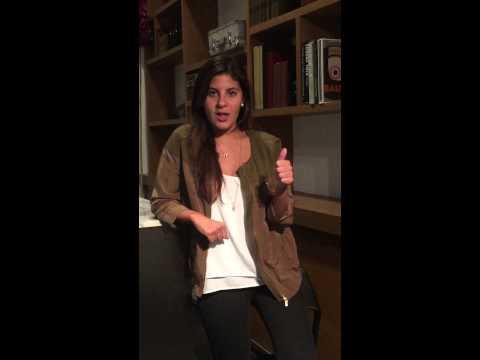 Constanza Mendez - HULT: Scholarship Application