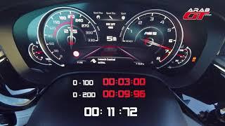 تسارع  و صوت بي ام دبليو ام 5 BMW M5 F90 2018 Acceleration