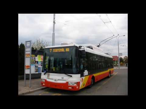Trolejbus Škoda 30TrDG Sor Ev.č 18 DPmHK