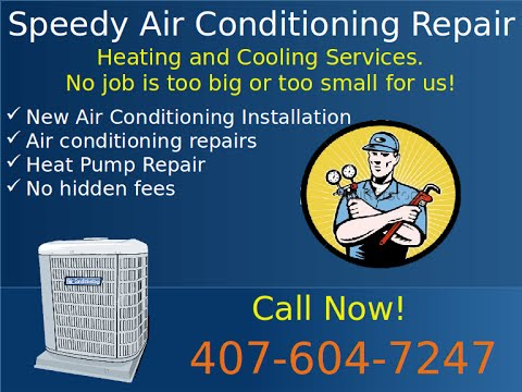 24/7 AC Repair Highland Park FL 407-255-2979 Highland Park 24/7 Air Conditioning Repair Service