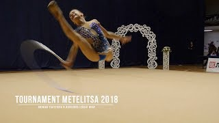 Гринина Екатерина Н.Новгород (2004) Обруч Rhythmic Gymnastics Tournament Metelitsa 2018 соревнования