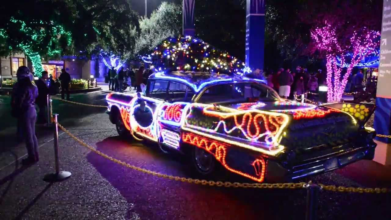 Houston Zoo Lights 2013