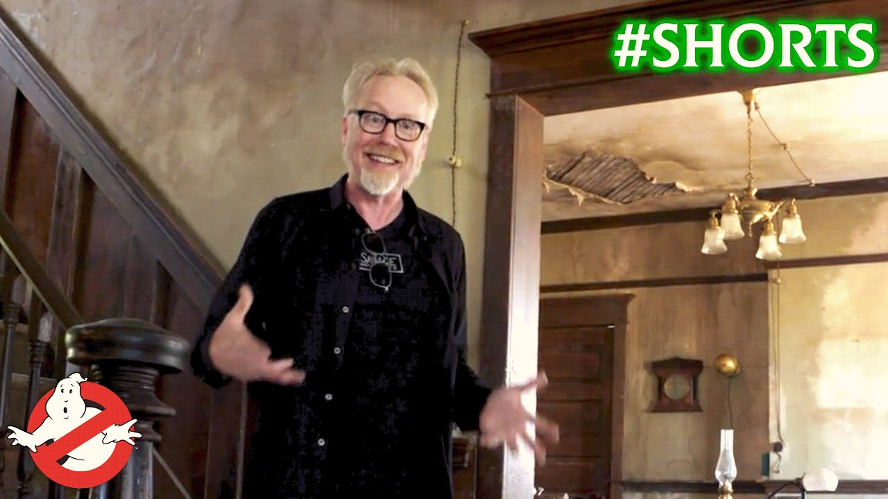 Set Decorating for Ghostbusters: Afterlife – Go BTS With Adam Savage's Tested! 👻 #Shorts