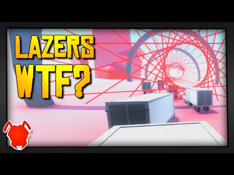 LASERS WTF?! / ClusterTruck Game  