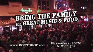 Whiskey Row Boot Drop | Ring in the New Year, 2019 | December 31st