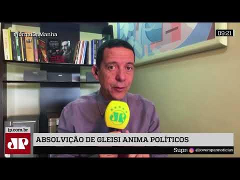 Absolvição De Gleisi Hoffmann Anima Políticos