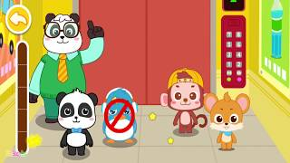 Baby Panda's Child Safety - Play With Animals, Learn Safety Knowledge - Educational Game for Kids