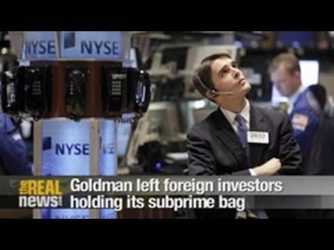 Goldman left investors holding its subprime bag