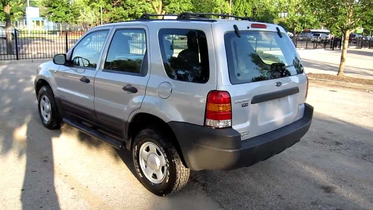 2002 ford escape 135k miles for sale chicago clean new tires 1 owner youtube. Black Bedroom Furniture Sets. Home Design Ideas