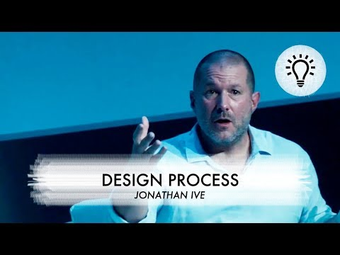 What Jonathan Ive has learned not to do in the design process as Design Officer at Apple