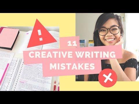 11 Mistakes High School Students Make In Creative Writing | Lisa Tran