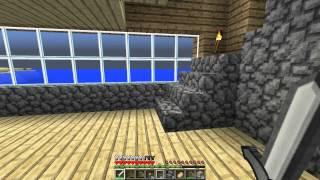 Выживание в minecraft 1.7.2 - Строим дома - Серия 4