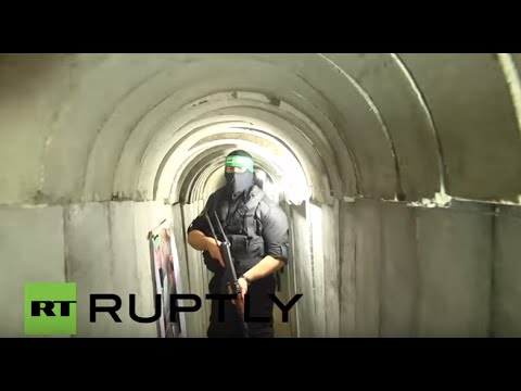 State of Palestine: Hamas military tunnel open to public for first time