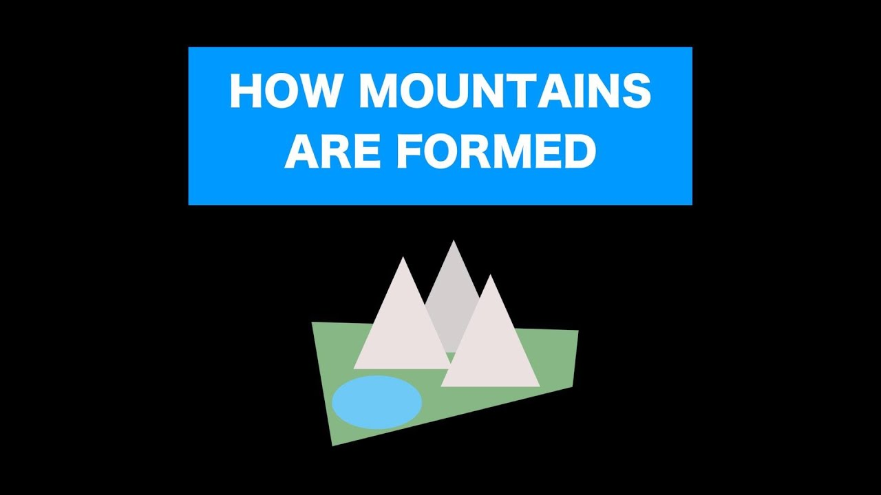 How Mountains are Formed and 5 Different Types! - YouTube