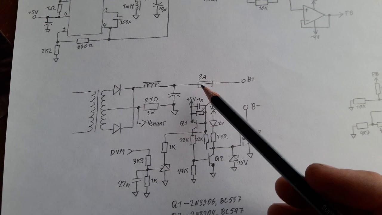 Beste Atx 450w Smps Schaltplan Ideen - Schaltplan Serie Circuit ...