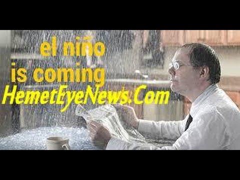 El Nino is Coming ! Are YOU Prepared ?  Hemet City Community Preparation Meeting