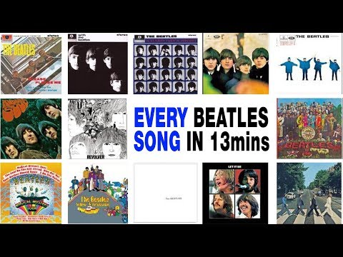 Every Beatles Song in 13 minutes