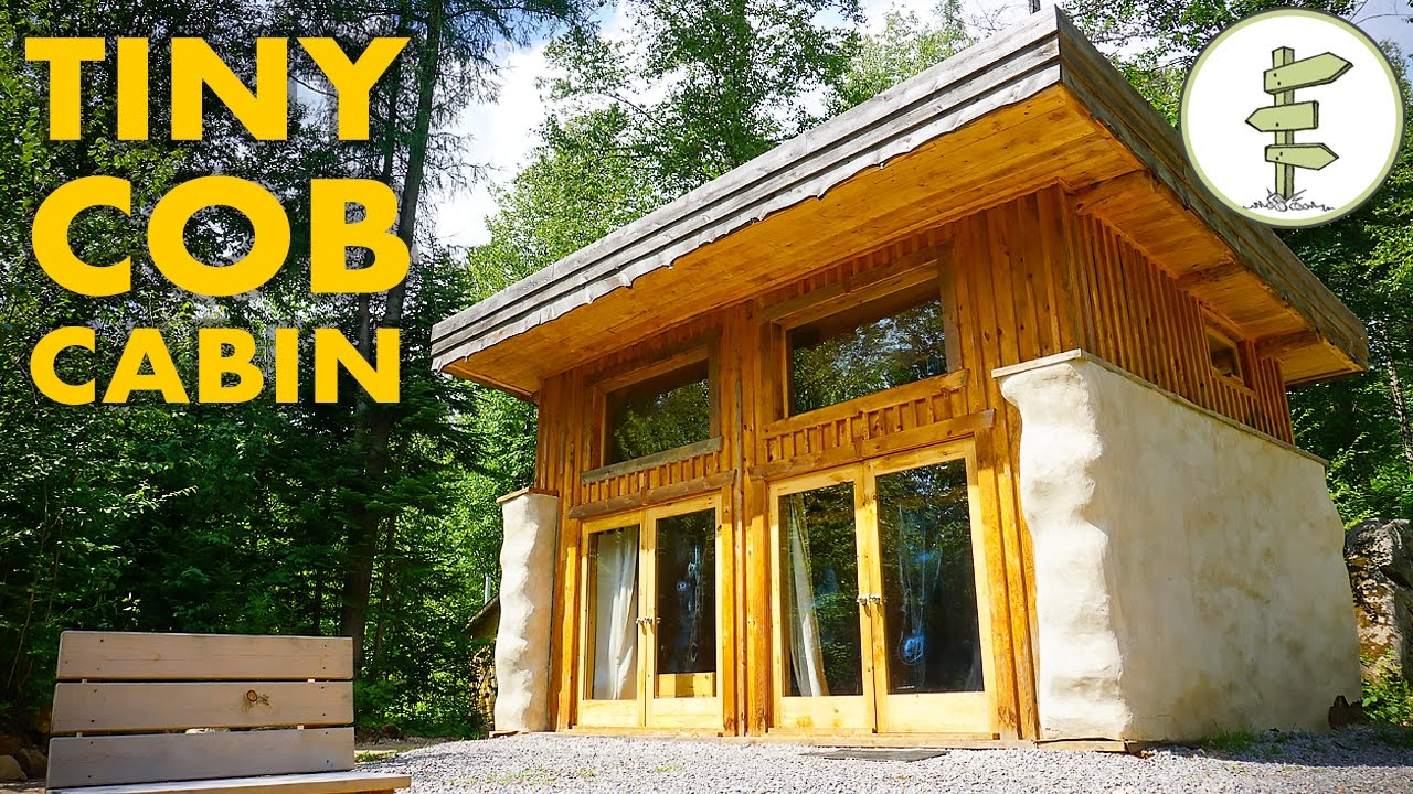 Sustainable Micro Straw Bale Cabin With Passive Solar