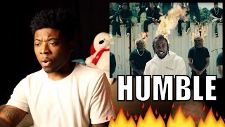 Kendrick Lamar - HUMBLE (Official Video + Lyrics) First REACTION / REVIEW