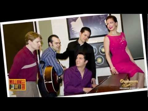 Cast Of Million Dollar Quartet At Sun Studio