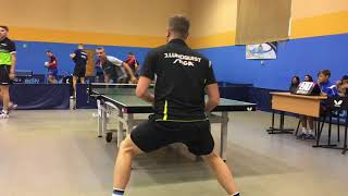 Jens LUNDQUIST  - Sergey SAVELEV  Amber racket 2017